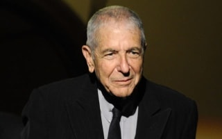 Leonard Cohen died in sleep after fall, manager says
