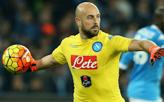 Reina: I don't care about Mancini's Sarri accusations