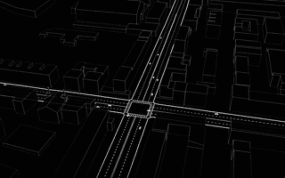 This slot-based intersection design could reduce congestion and pollution