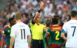 VAR leads to Mabouka red after referee initially sends off wrong man