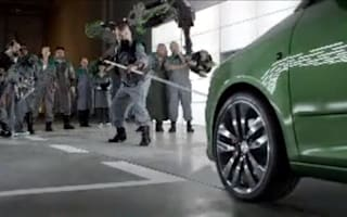 Video: Skoda shows its mean side