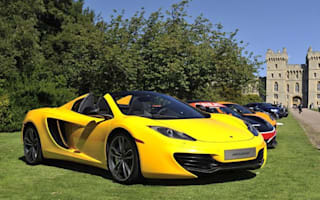 McLaren 12C Spider makes a sunny debut at Concours of Elegance