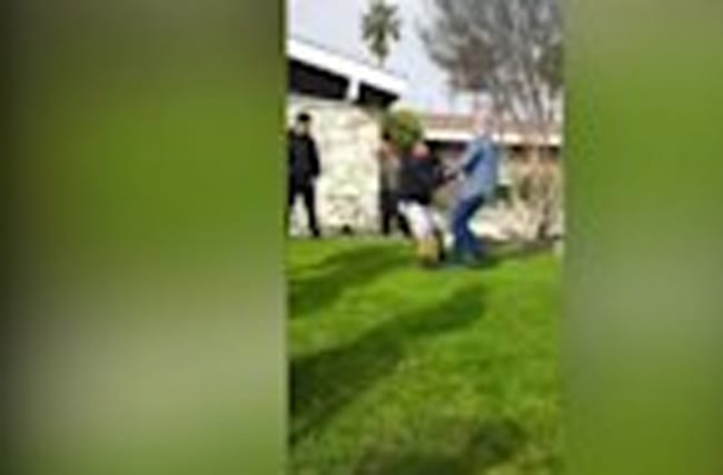 Anaheim police probe officer shooting incident caught on video