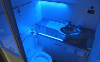 Boeing unveils self-cleaning toilets on planes