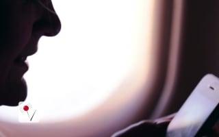 Passenger jailed for using phone on plane