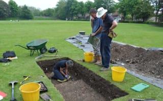 Ancient Roman houses found under Chichester park