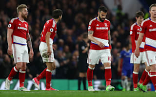 Middlesbrough relegated from Premier League after defeat at Chelsea