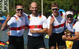 Rio 2016: German scullers power to first rowing gold of Games