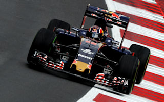 Kvyat left fuming by 'stupid' yellow kerbs