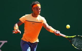 Nadal makes encouraging start in Monte Carlo