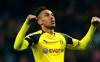 Aubameyang nets 100th Borussia Dortmund goal