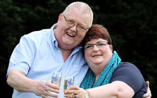Lottery winners defend Yes donation
