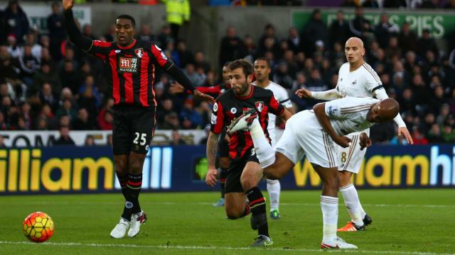 ไฮไลท์  Swansea City 2 - 2 AFC Bournemouth