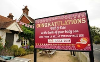 Celebrate the Royal Birth with a freebie