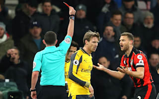 Bournemouth appeal Francis red card
