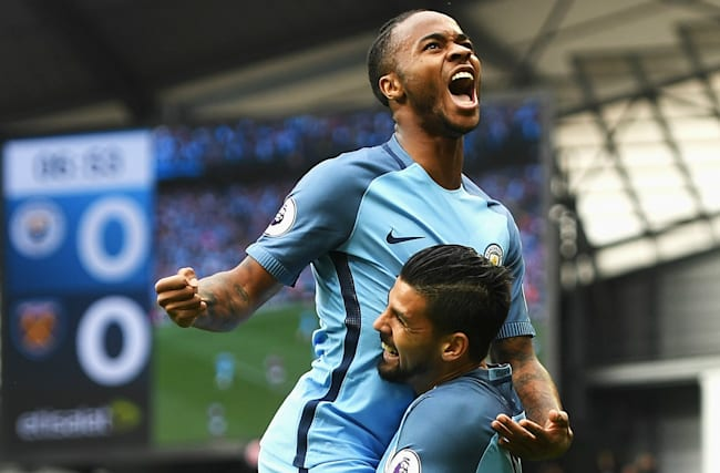 Manchester City 3 West Ham 1: Hosts stay perfect under Guardiola