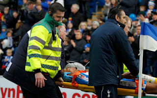 Colchester defender Wynter hospitalised after head clash