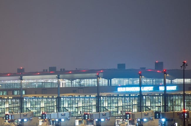 Guess what you can't do at Berlin's brand new airport...