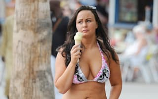 Big Brother star Chanelle Hayes enjoys winter sun holiday in Tenerife