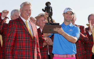 Watch: PGA Tour winner Wesley Bryan has trick-shot skills, too
