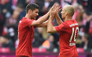 Robben hopes Alonso stays at Bayern amid retirement rumours