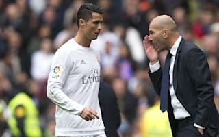 Ronaldo will always score goals - Zidane