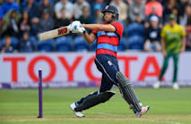 Malan the man on debut as England seal series