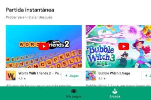 Con Google Play Instant podrás probar juegos sin descargarlos