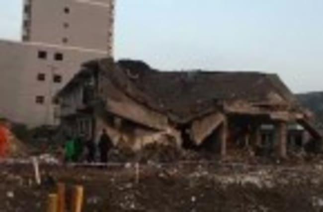 Deadly blast in northwest China