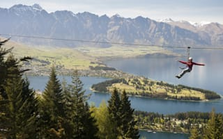 Zip wire rides: Where to find the best in the world