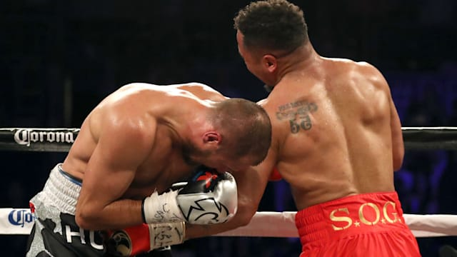 Boxer Andre Ward Stops Russia's Sergei Kovalev In Eighth Round