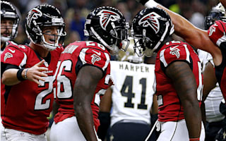 Falcons offense explodes in win over Saints