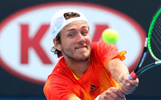 Rain delays Bucharest final for Pouille and Verdasco