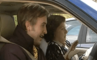 A-ha! It's the cars of Alan Partridge