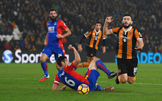 Pardew sympathises with referee after Snodgrass penalty