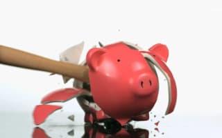 Nearly half of parents admit to raiding their children's piggy banks