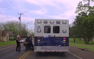 Teenager steals ambulance and starts dangerous chase