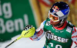 Pinturault tops all-French podium in Kitzbuhel, Svindal crashes
