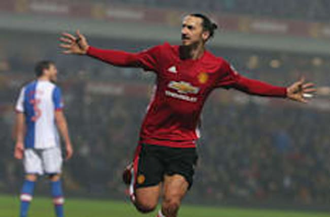 Man Utd come from behind to beat Blackburn in the Cup