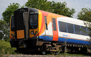 Train announcer goes off the rails after attack by vandals