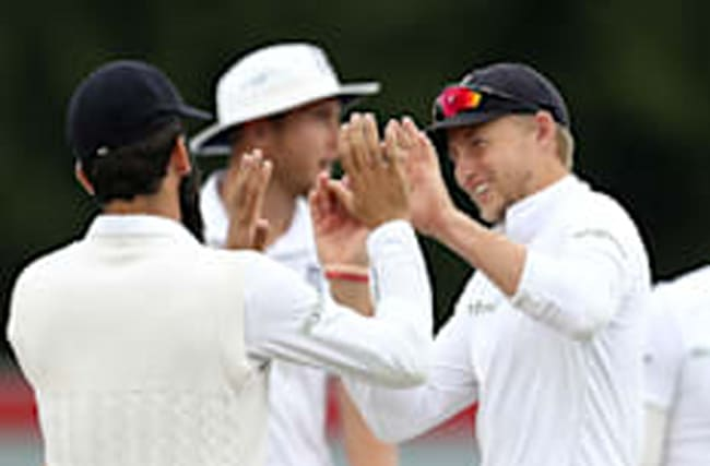 England in total control of Old Trafford Test match