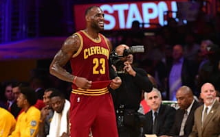 LeBron inspires Cavs, Hawks hammer Pacers