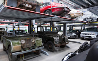 Jaguar Land Rover open doors to its 'Classic Works' factory