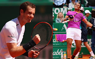 Murray and Nadal muddle through in Monte Carlo