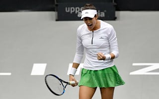 Muguruza, Keys advance in Linz