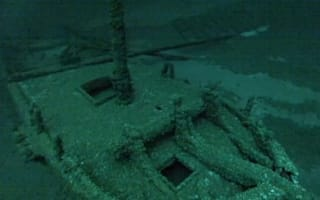 Three retired men find one of world's oldest shipwrecks