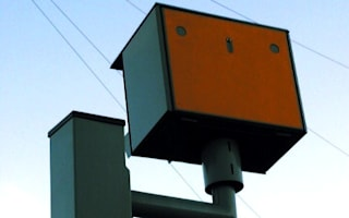 Speed camera capture numbers slump