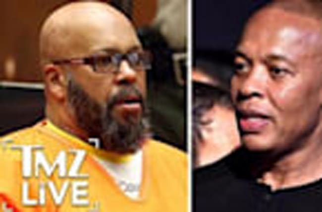 DR. DRE Fires Back at SUGE KNIGHT (TMZ Live)