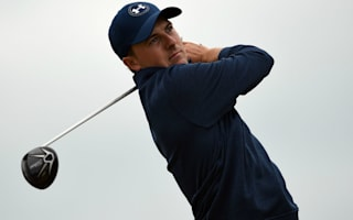 Spieth shares lead at weather-affected Pebble Beach