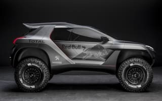 Peugeot reveals 2008-based DKR Dakar Rally racer
